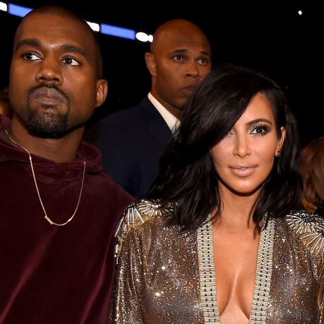 Kanye West, Kim Kardashian and Beyonce