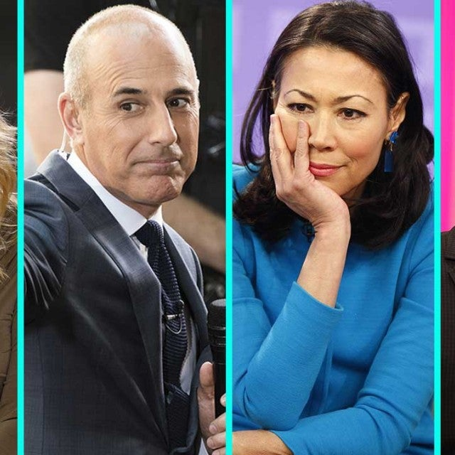 Kathie Lee Gifford, Ann Curry, Matt Lauer and Billy Bush