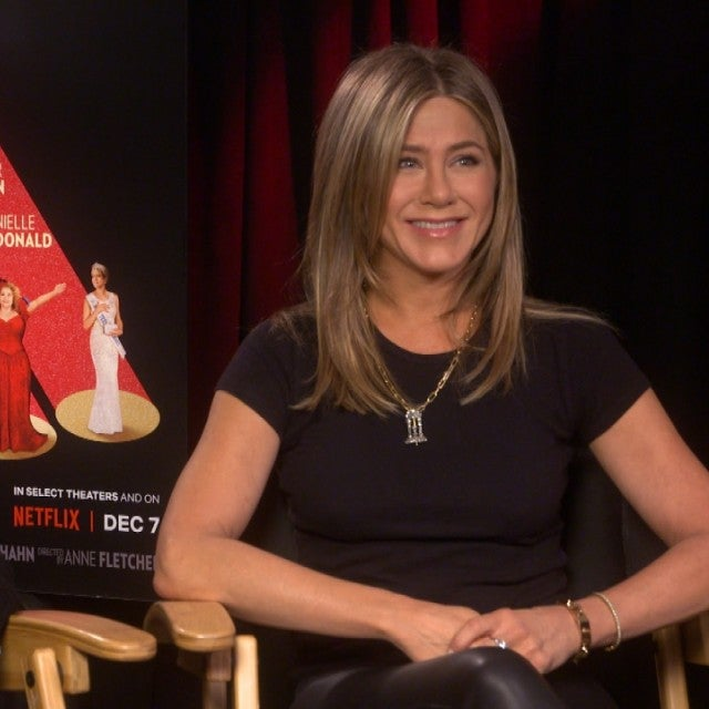 Jennifer Aniston 'Burst Into Tears' After Recording Song With Dolly Parton (Exclusive)