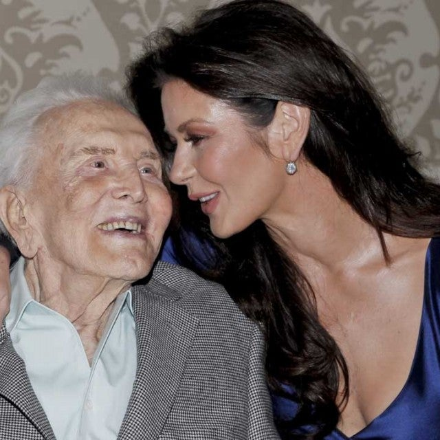 Kirk Douglas and Catherine Zeta-Jones