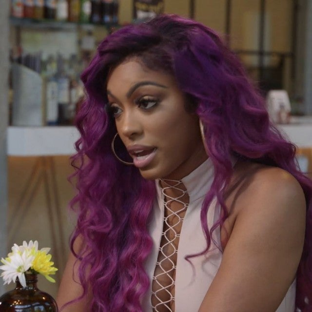 Porsha Williams confronts Kandi Burruss on 'The Real Housewives of Atlanta.'