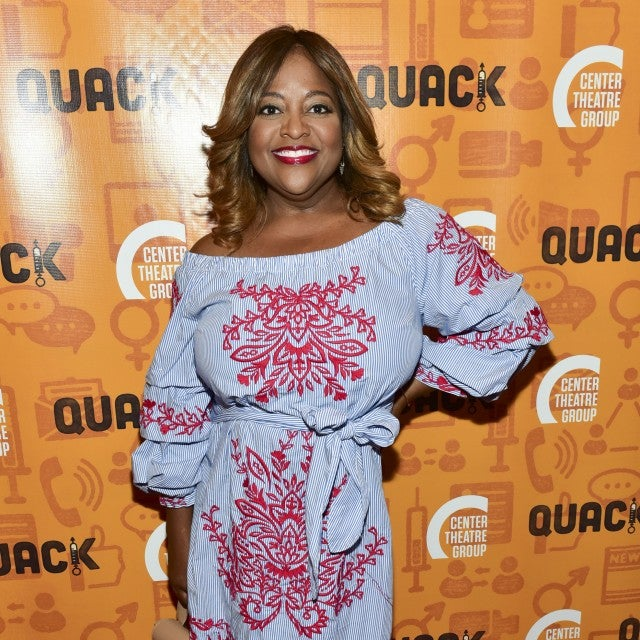 Sherri Shepherd attends Center Theatre Group's Kirk Douglas Theatre Hosts Opening Night Performance of 'Quack' at Kirk Douglas Theatre on October 28, 2018 in Culver City, California.