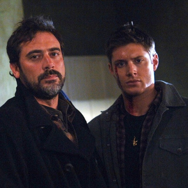 Jeffrey Dean Morgan, Jared Padalecki and Jensen Ackles in 'Supernatural'