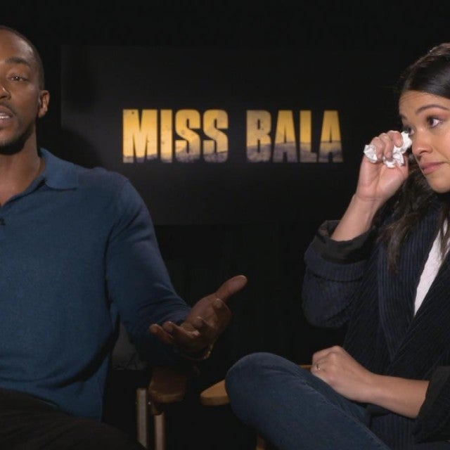 Gina Rodriguez Cries as Anthony Mackie Praises Her Carmen Sandiego Role