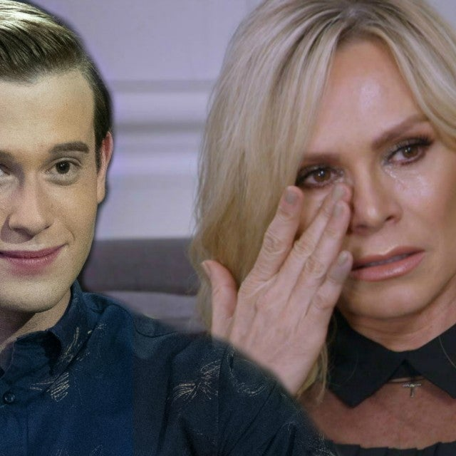 Tyler Henry and Tamra Judge on 'Hollywood Medium.'