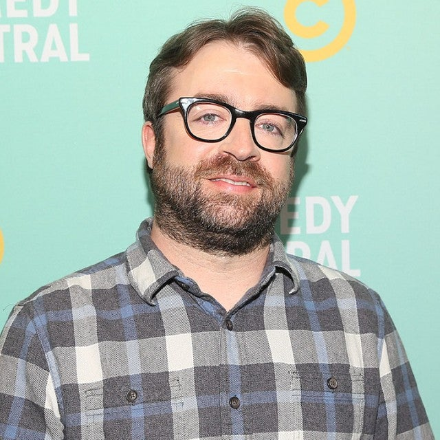 Derek Waters at 2019 Comedy Central press day
