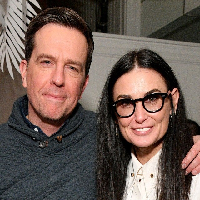 Ed Helms and Demi Moore at sundance 2019
