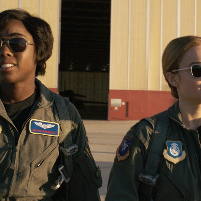 Lashana Lynch, Brie Larson, Captain Marvel