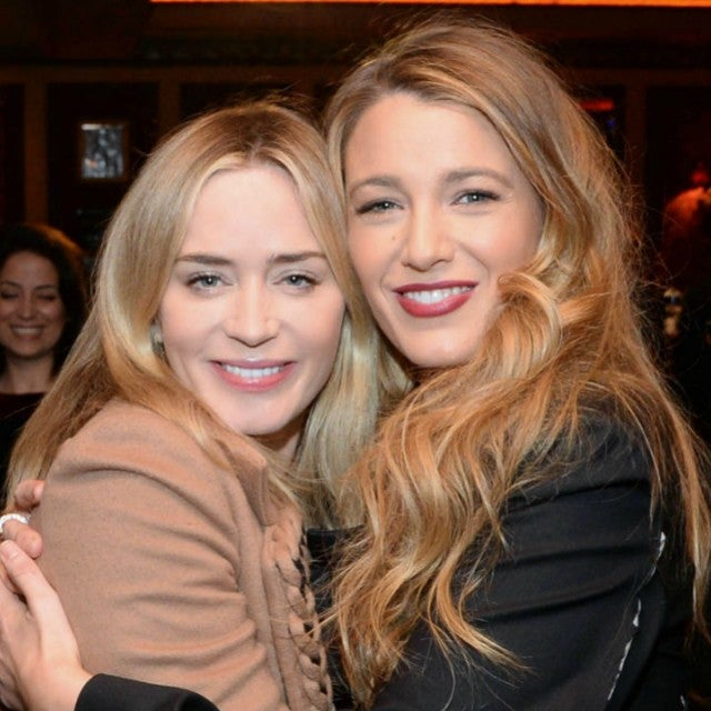 Emily Blunt and Blake Lively