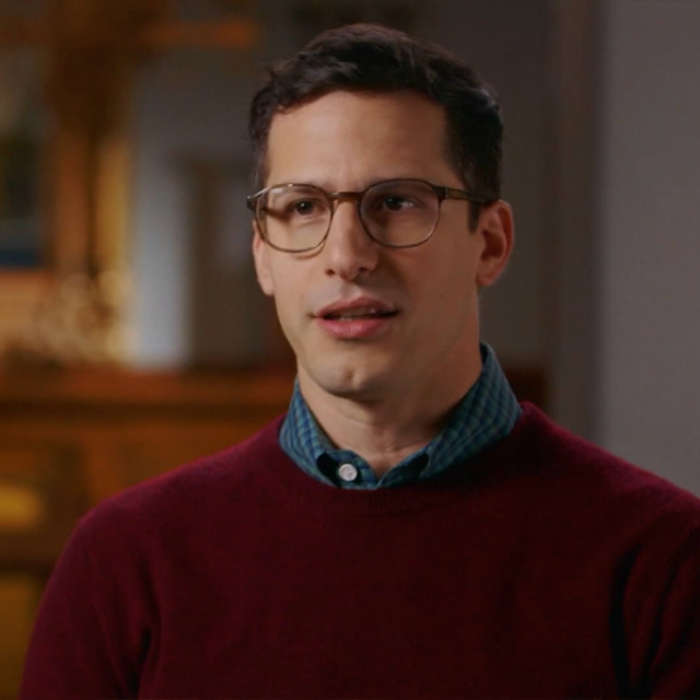 Andy Samberg interview on FInding Your Roots
