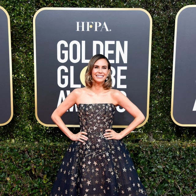 Keltie Knight at the 76th Annual Golden Globe Awards