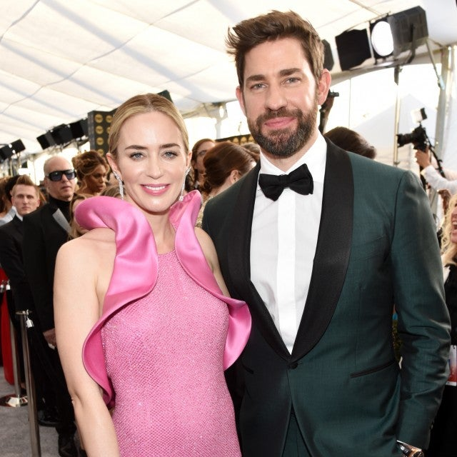 Emily Blunt and John Krasinski at the 25th Annual Screen Actors Guild Awards