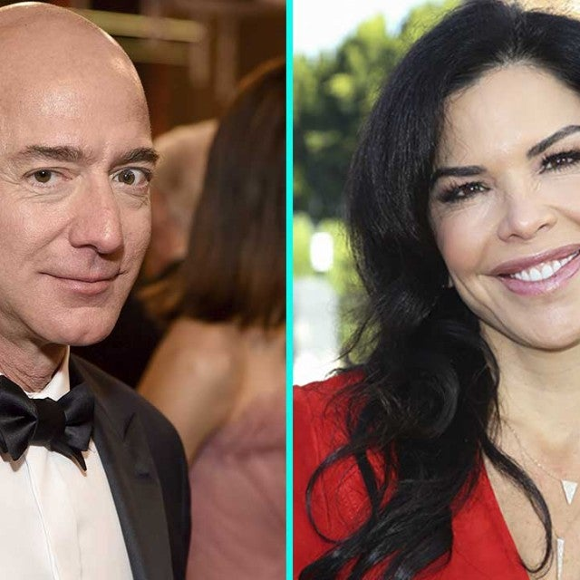 Amazon CEO Jeff Bezos and Lauren Sanchez