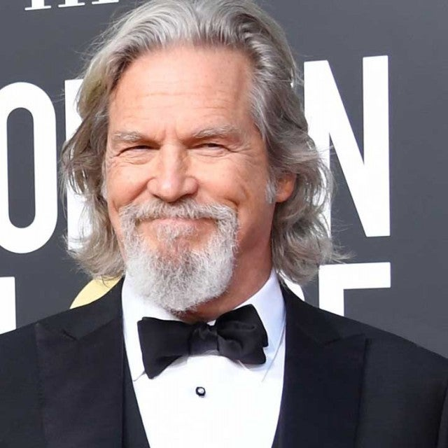 Jeff Bridges at the 2019 Golden Globes at the Beverly Hilton Hotel on Jan. 6