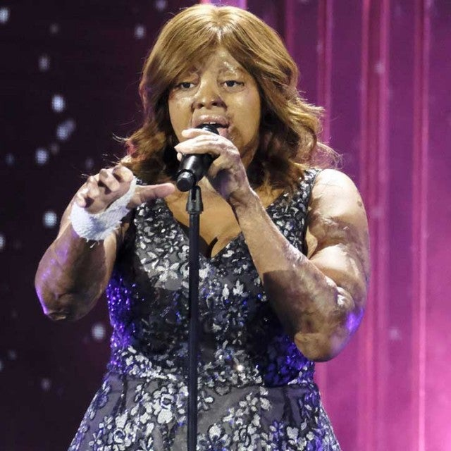 Kechi sings on 'America's Got Talent: The Champions'