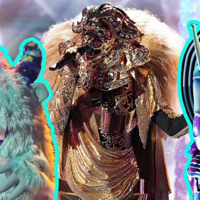 The Monster, The Lion and The Alien on Fox's 'The Masked Singer'
