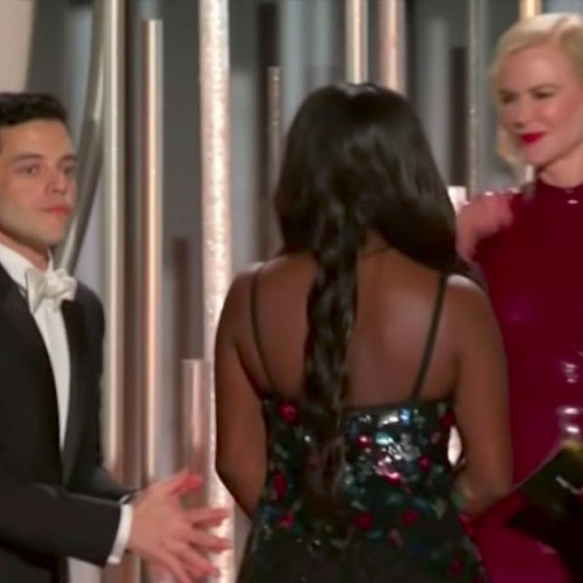Rami Malek and Nicole Kidman