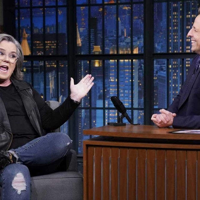 Rosie O'Donnell on 'Late Night With Seth Meyers'