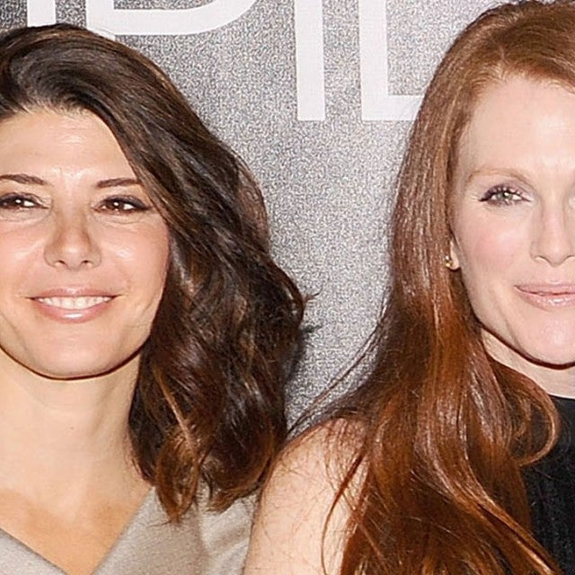 Marisa Tomei and Julianne Moore