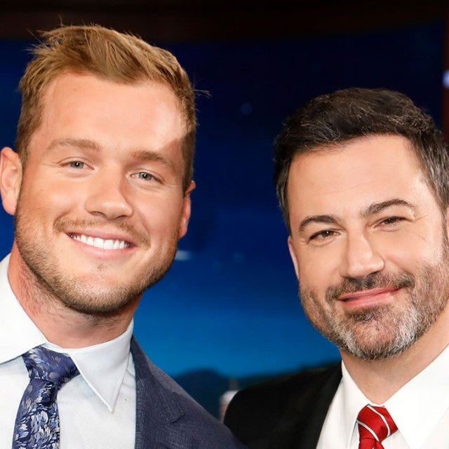 Colton Underwood and Jimmy Kimmel