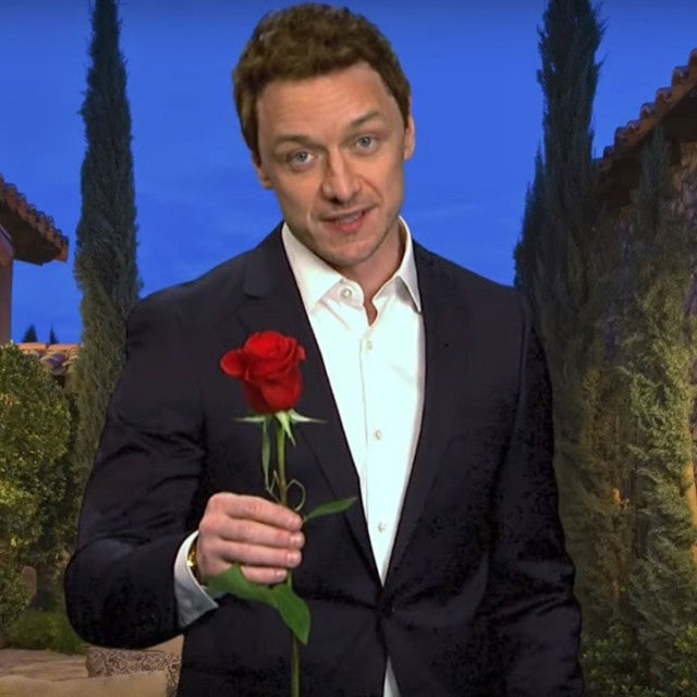 James McAvoy as the 'Virgin Hunk' on 'Saturday Night Live'