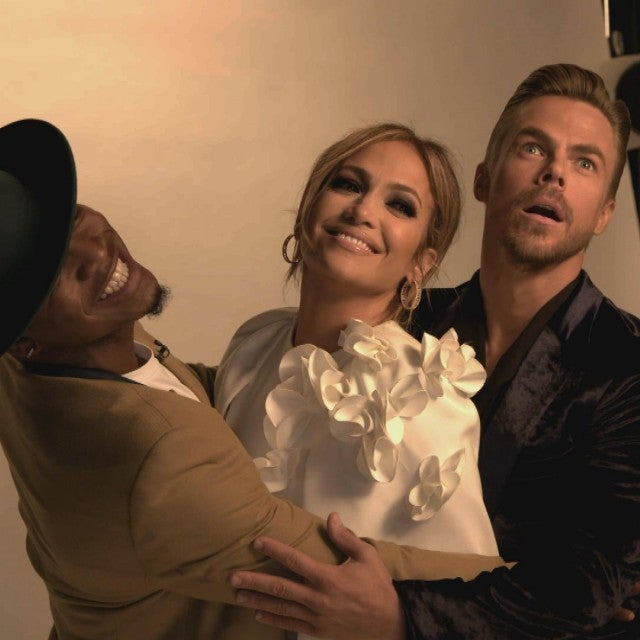 'World of Dance': Jennifer Lopez and Derek Hough Take Fans Backstage