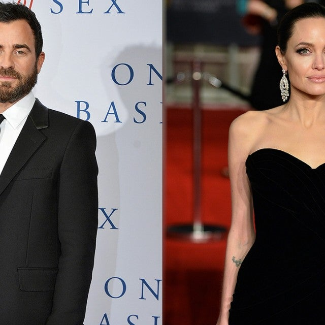 Justin Theroux and Angelina Jolie
