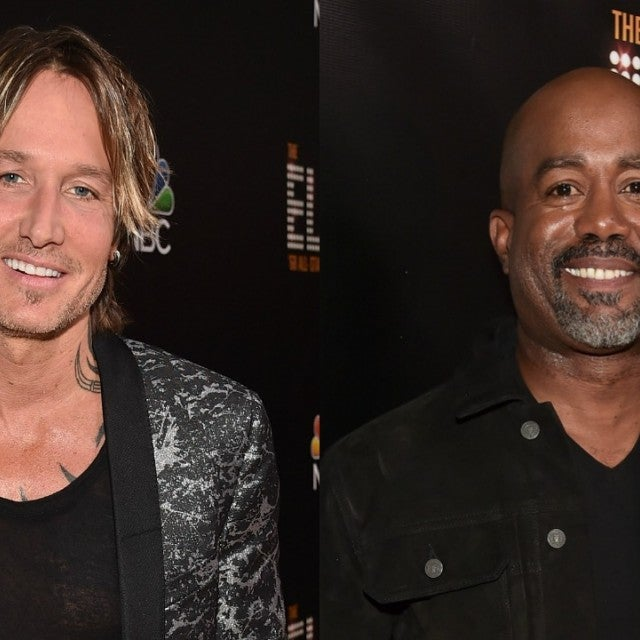 Keith Urban, Darius Rucker