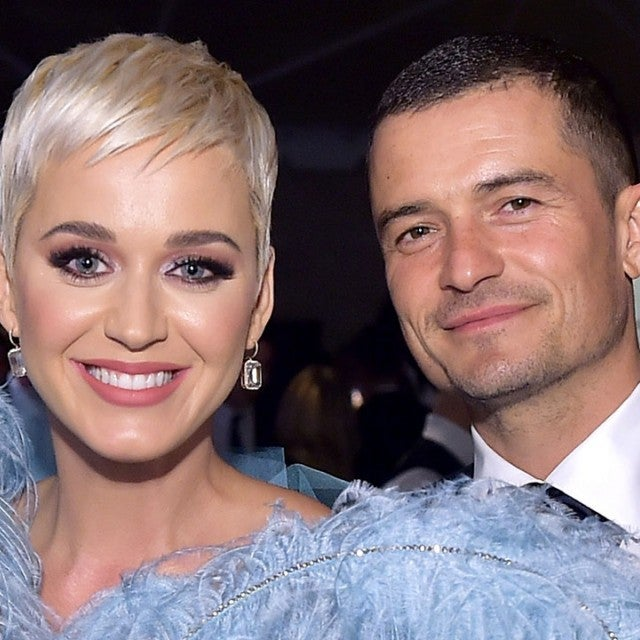 Katy Perry and Orlando Bloom in October 2018