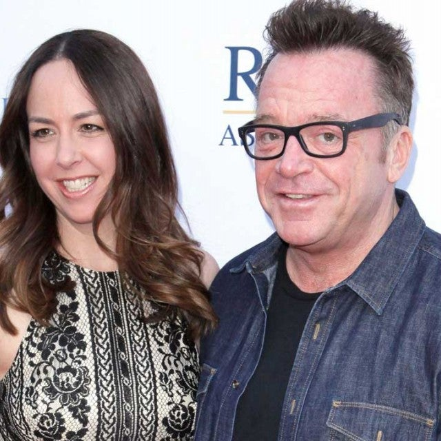 Tom Arnold and estranged wife Ashley Groussman