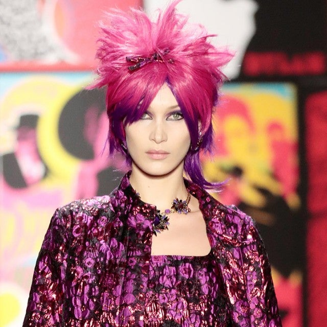Bella Hadid at Anna Sui 1280