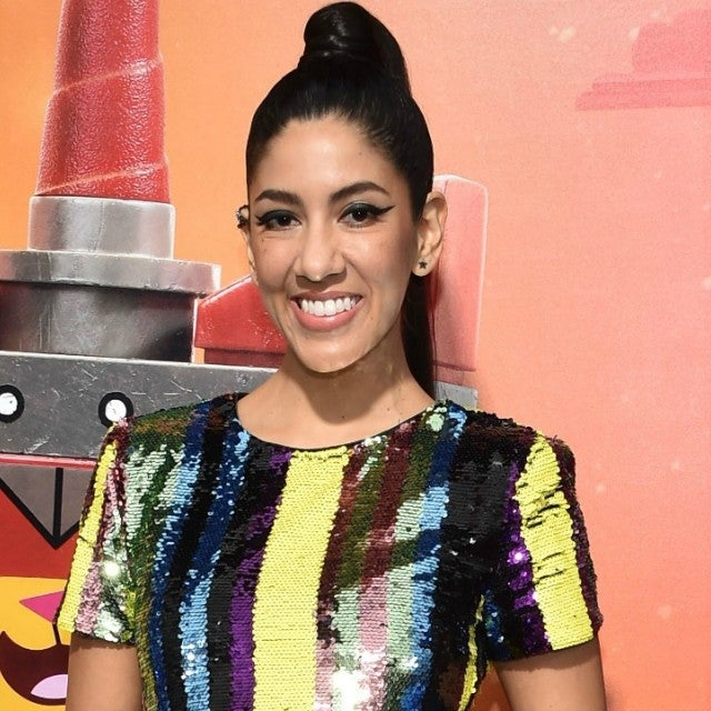 Stephanie Beatriz Lego Movie Premiere