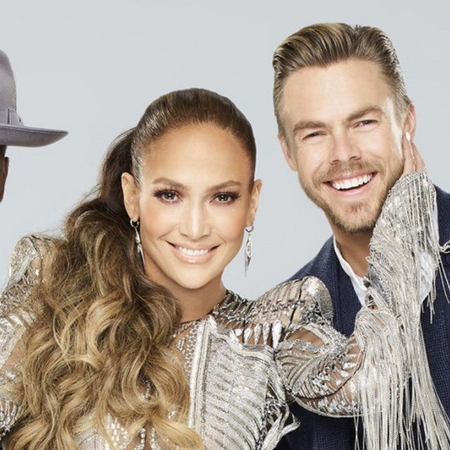 Jennifer Lopez, Ne-Yo, Derek Hough World of Dance photo shoot