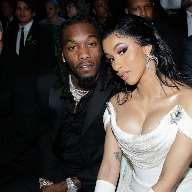 Cardi B and Offset inside grammys 2019