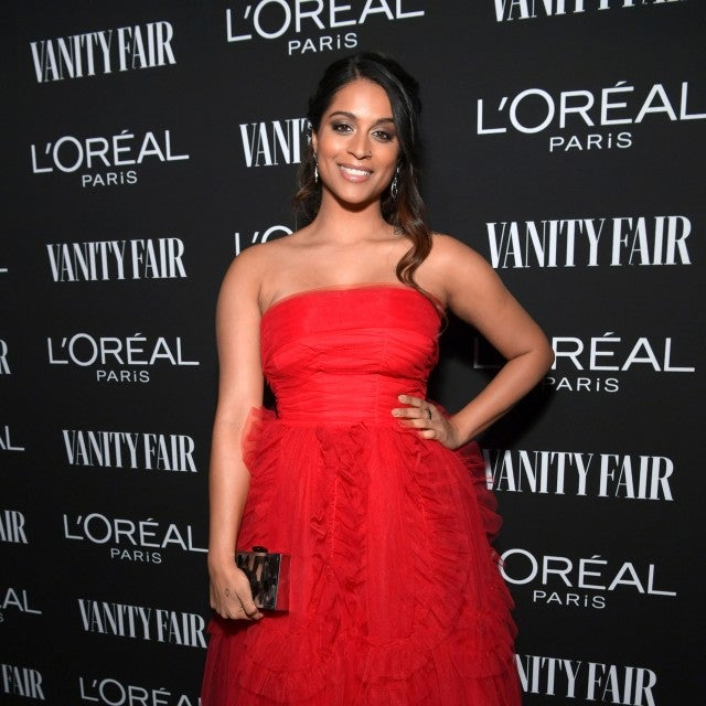 Lilly Singh at new hollywood party