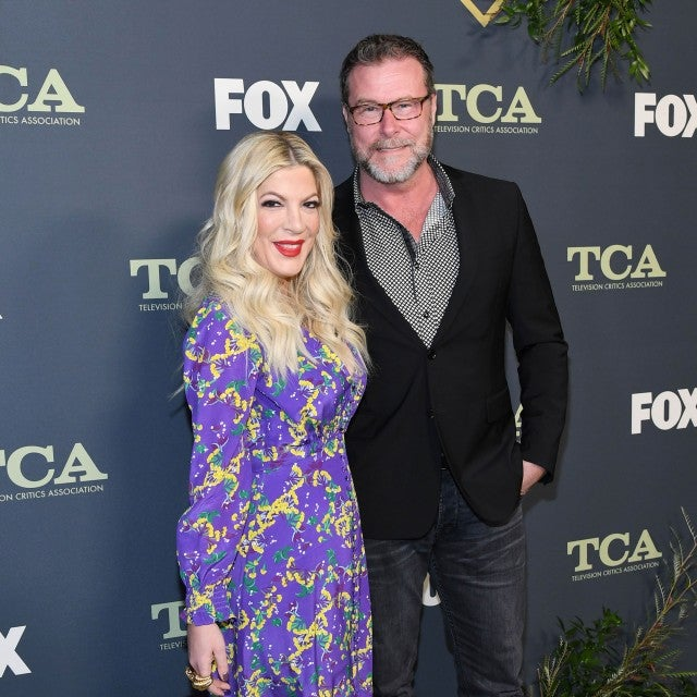 Tori Spelling and Dean McDermott at TCAs