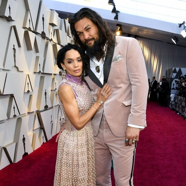 Lisa Bonet and Jason Momoa at the 91st Annual Academy Awards