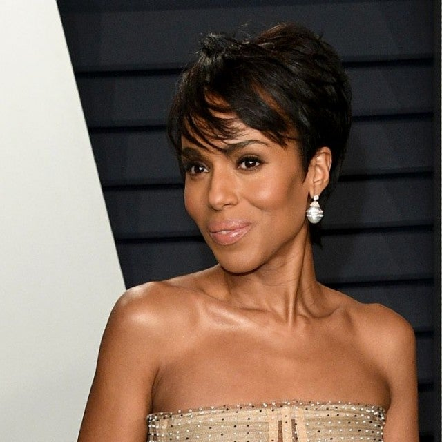 Kerry Washington pixie cut
