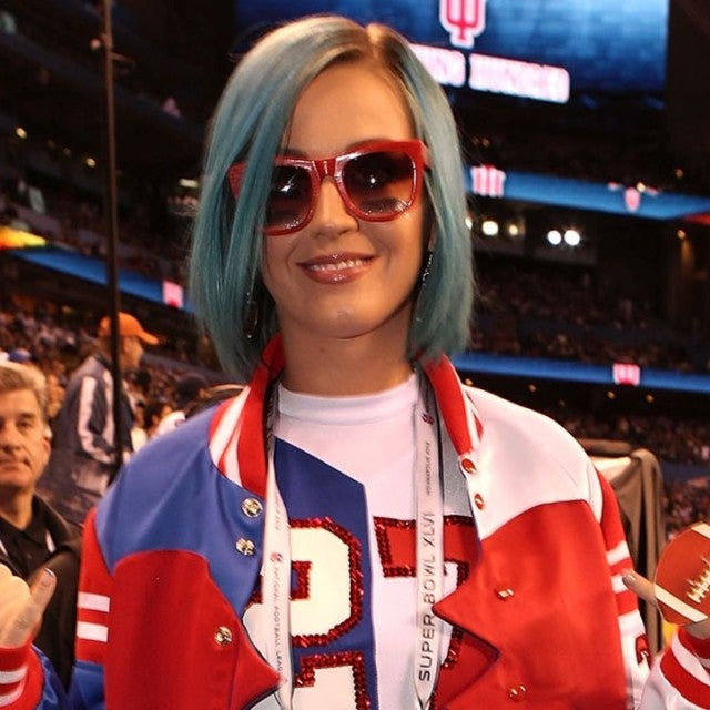 Katy Perry at Super Bowl