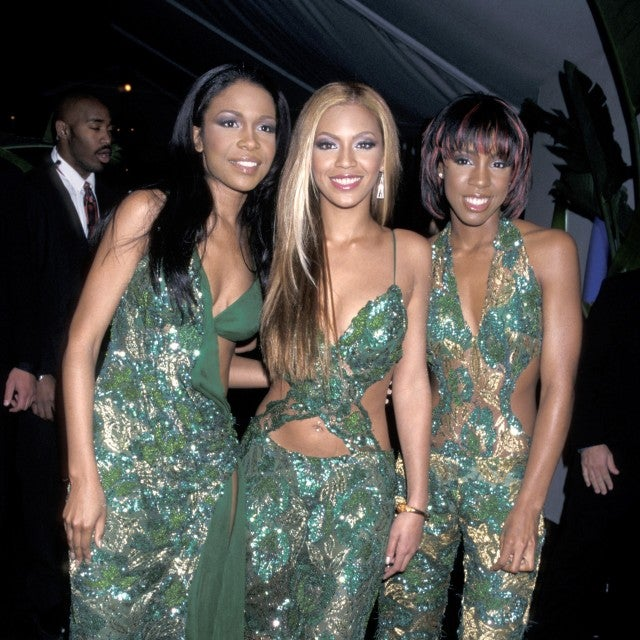 Destiny's Child at 2001 grammy party