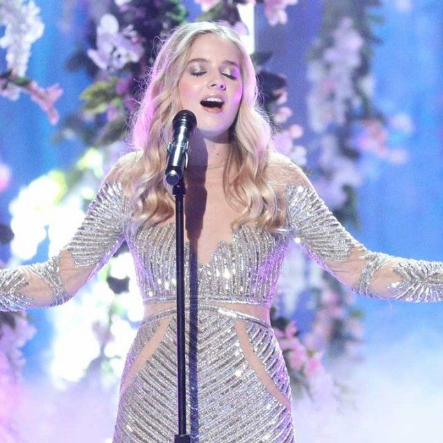Jackie Evancho performs on 'America's Got Talent: The Champions'