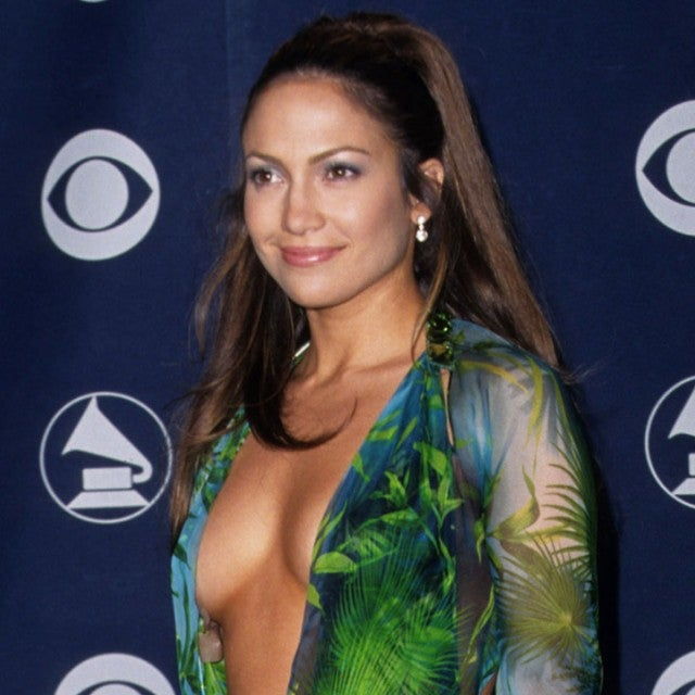 Jennifer Lopez at 2000 grammys