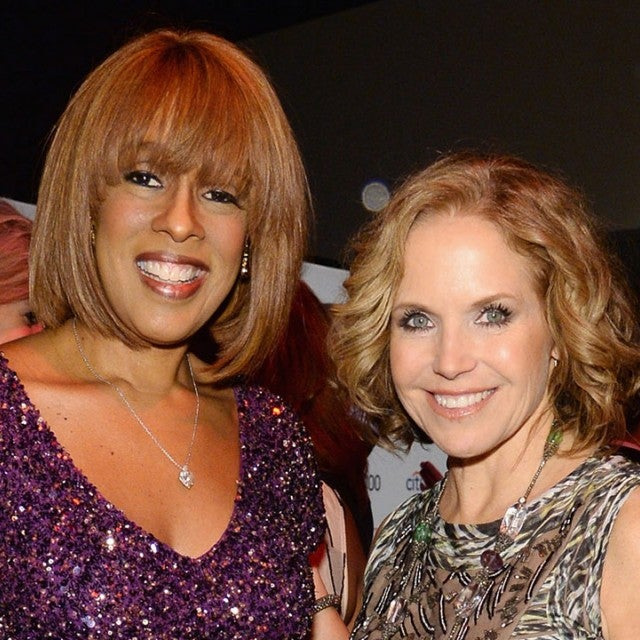 Gayle King and Katie Couric