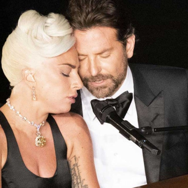 Lady Gaga and Bradley Cooper perform at the 2019 Oscars