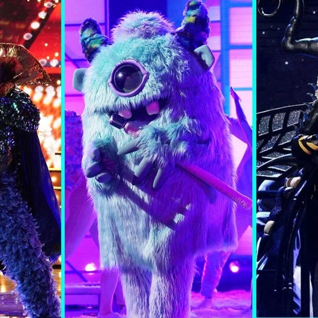 The Peacock, The Monster and The Bee from Fox's 'The Masked Singer'