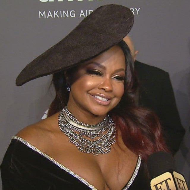 Phaedra Parks at the 2019 amfAR Gala New York City.