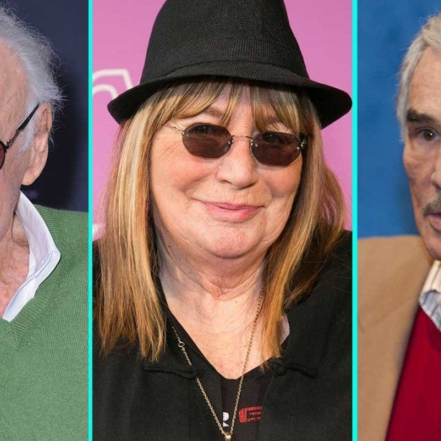Stan Lee, Penny Marshall and Burt Reynolds
