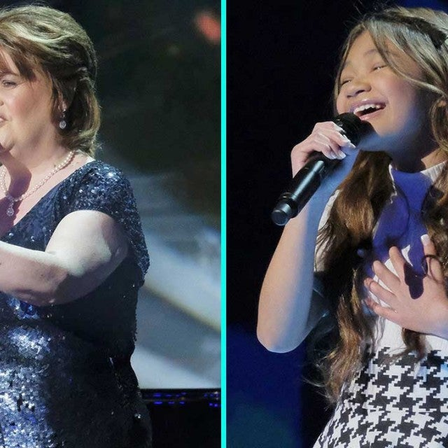 Susan Boyle and Angelica Hale on 'America's Got Talent: The Champions'