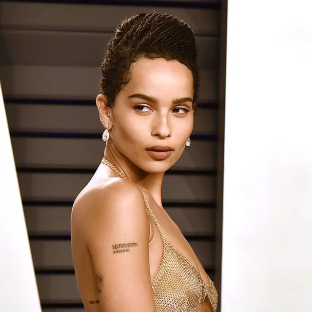Zoe Kravitz at vanity fair party