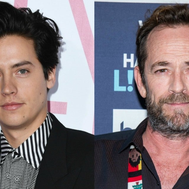 Cole Sprouse, Luke Perry